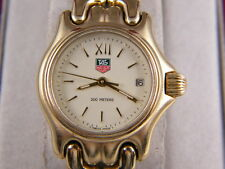 Tag Heuer SEL Womens 18K Gold Plated 200mm Prof