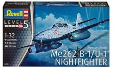 Revell Germany WWII German Messerschmitt Me 262B-1 Night Fighter model kit 1/32