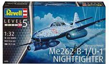 Revell Germany WWII German Messerschmitt Me 262B-1 Night Fighter model kit 1/32