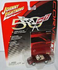 Corvette 50 Years - 1988 CHEVY CORVETTE - copper met - 1:64 Johnny Lightning