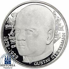 Deutschland 5 DM Silber 1978 Spiegelglanz Gustav von Stresemann in Münzkapsel