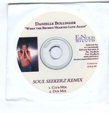 (FA159) Danielle Bollinger, When The Broken Hearted Love Again - 2005 DJ CD