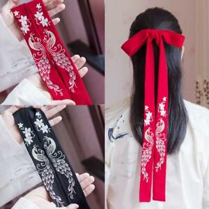 Chinese Style Ancient Girl Hanfu Headband Embroidered Headdress Hair Rope