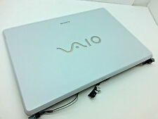 Sony Vaio VGN-FE590P Genuine LCD Back Cover + Front Bezel + Hinges + Cables / 28