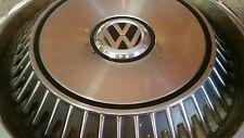 Vintage VW Wheel Cover- RARE - Volkswagon Beetle Van - Hard to Fnd