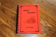 Island Favorites Cookbook by Doris F. Raabe family and consumer science teacher