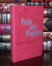 Pride & Prejudice by Jane Austen Unabridged Deluxe Soft Leather Feel Edition