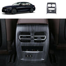 For BMW 3 Series G20 330i Black wood rear air outlet vent Anti-kick panel trim