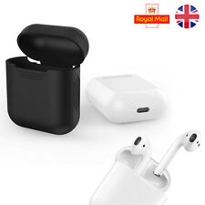 Apple AirPod Earphones New Silicone Shockproof Protective Cover Case Slim Skin