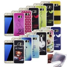 Mobile Cover Case iPhone 5 6 7 8 Galaxy s8 s7 s6 Silicone TPU Bumper Cover