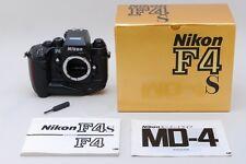 【A- Mint in Box】Nikon F4s 35mm SLR Film Camera Body S/N 227**** From JAPAN #2734