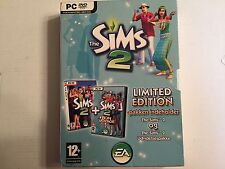 Sims 2 & Sims 2 Bon Voyage DANISH VERSION.  Complete.  FREE USA Shipping