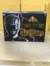 LEGACY POWER COIN SET Mighty Morphin Power Rangers Die-cast (BOX HAS DENTS) New