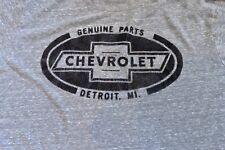 Pre-Owned Chevrolet Parts Detroit T Shirt Men L Gray