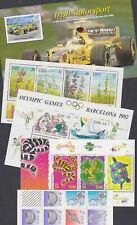 Eire Ireland 1990-2001 Mint MNH Minisheet Flowers Olympics Snake Motorsport Art