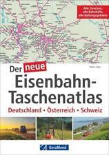 Der neue Eisenbahn-Taschenatlas von Veselin Kolev und Anneli Nau (2015, Taschenbuch)