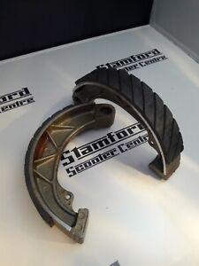 Newfren Grooved Lambretta Brake Shoes Li SX TV Race Compound Antiaqua