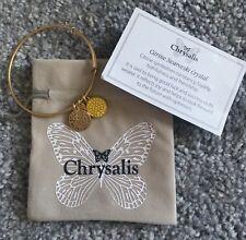 Chrysalis Citrine Swarovski Crystal Bracelet