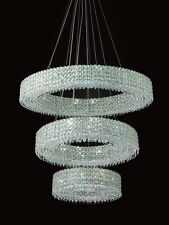 French Empire Modern Crystal Ceiling Lighting Chandelier  Pendant Fixture Clear