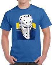 St. Louis Blues Mike Liut NHL Hockey Goalie Mask Tee Shirt T-shirt