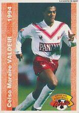 N°181 CELSO VALDEIR # BRAZIL GIRONDINS BORDEAUX CARD CARTE PANINI FOOT 1994