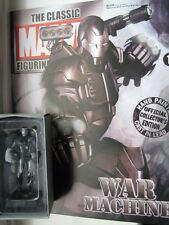 Classic Marvel Figurine Collection WAR MACHINE wMag NEW Eaglemoss FREE USA SHIP