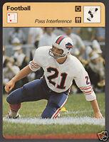 BOB CHANDLER Buffalo Bills Football Interference 1979 SPORTSCASTER CARD 40-04A