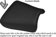 CARBON FIBRE VINYL CUSTOM FITS SUZUKI GS 1200 SS 01-02 FRONT SEAT COVER