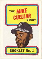 TOPPS BASEBALL MINI COMIC BOOKLET 1970 1 MIKE CUELLAR