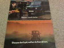 BL Austin Morris Sherpa Brochure Selection