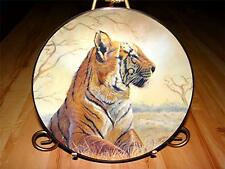 """""""Bengal Tiger"""" Nature'S Harmony Gregory Perillo Vague Shadows Plate Collection"""