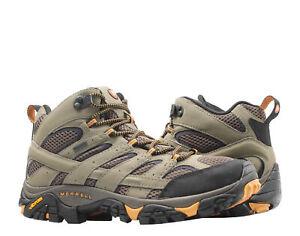 Merrell Moab 2 Mid GORE-TEX Walnut Men's Hiking Boots J06057 Size 8.5M