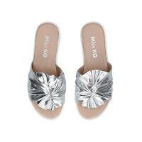 Kurt Geiger Miss KG Silver Slider Sandals Flip Flops - NEW RRP £55 Size 6 39