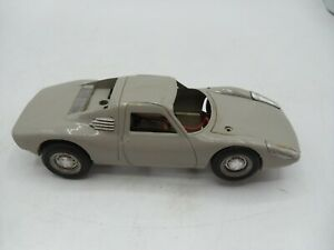 1/32 ATLAS FORD GT slot car with Chassis & Body Needs TLC Nice tires