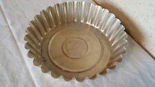 Moule à gâteau en aluminium de 22 cm de diamètre par 6 cm de haut
