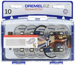 Dremel 690 EZ SpeedClic Cutting Wheels Set - Accessory Kit with 10 Rotary Tool