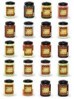 CANDLEBERRY LARGE JAR SCENTED CANDLE 26oz-Choice Of Fragrances 140-160 hours