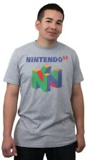 Nintendo 64 Videogame Console T-Shirt N64 - Men's L - New w/Tags!