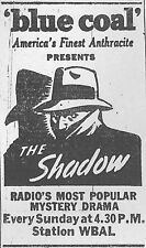 The Shadow Old Time Radio & TV show pilot 2 Disc set in case w/artwork