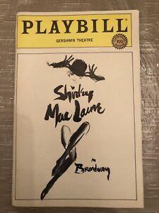 SHIRLEY MACLAINE ON BROADWAY Apr 1984 Broadway OPENING NIGHT Playbill! +!