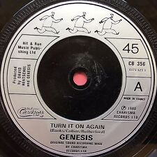 Genesis - Turn It On Again / Behind The Lines (Part 2) Charisma CB-356 Ex