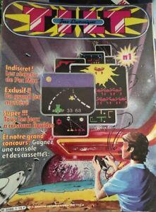 """!!! vieux magazine """"TILT Jeux Electroniques"""" n° 1 !!! complet"""