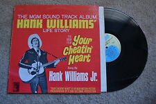 Hank Williams Jr. Your Cheatin' Heat Movie Soundtrack Country Record lp NM