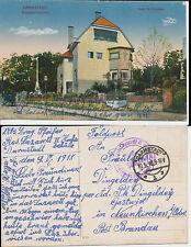 Darmstadt  Deutsche Feldpost Res. Lazaret II Techn. Hochschule  Militär 1916 (30