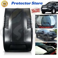 ABS Raptor Style Bonnet Scoop - Ford Ranger PX1 MK1 MK2 BLACK