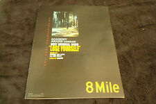 8 MILE Oscar ad in alleyway, Eminem for Best Song & ABOUT SCHMIDT Jack Nicholson