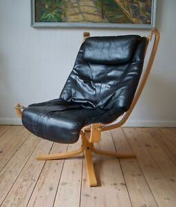 Mid-Century Falcon Chair by Sigurd Ressell for Vatne Møbler, 1970s