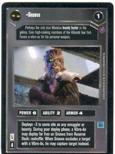 Star Wars CCG Reflections II Ex. Uni. Premium Snoova