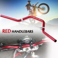 """7/8"""" 22mm Pit Dirt Bike ATV Braced Handlebar Handle Bar 50cc 110cc 125cc 140cc"""