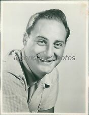 1967 Portrait of the Comedian Sid Caesar Original News Service Photo